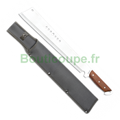 Machette coupe-coupe Albainox Poing bois 32509 lame 37 cm